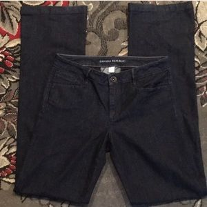 Banana Republic Trouser Jeans Size 28L